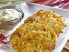 Kartoffelpuffer mit Bambussprossen und Chili Rezept