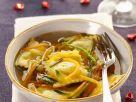 Kartoffelravioli in Gemüsebrühe Rezept
