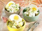 Kartoffelsalat mit Joghurt und hartem Ei Rezept