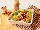 Kartoffelsalat mit Pfifferlingen Rezept