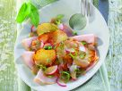 Kartoffelsalat mit Putenbrust Rezept