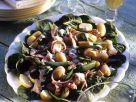 Kartoffelsalat mit Zuckerschoten und Räucherfisch Rezept