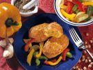 Kichererbsen-Puffer mit Gemüse Rezept