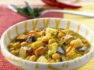 Kichererbsencurry mit Auberginen Rezept
