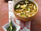 Kichererbsensuppe mit Hähnchen Rezept