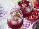 Kirsch-Granatapfel-Cocktail Rezept