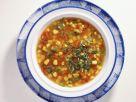 Klare mexikanische Gemüsesuppe Rezept