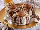 Kleine Baiserkuchen mit Maronicreme Rezept