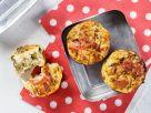 Kleine Pilz-Zucchini-Quiches Rezept