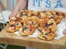 Kleine Pizzen Rezept