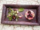 Kleine Tartes mit Roter Bete und Zwiebeln Rezept