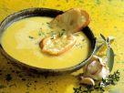 Knoblauchsuppe mit Croutons Rezept
