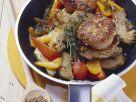 Körnerpflanzerl mit Paprika und Artischocken Rezept
