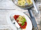 Kohlküchlein mit Tomatensauce und Le Gruyère AOP Rezept