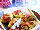 Kohlrouladen mit Reisfüllung Rezept