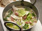 Kohlsuppe mit Bohnen und Speck Rezept