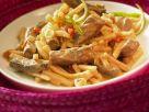 Kokos-Rindfleisch mit Bambus Rezept
