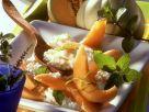 Kokosmilchreis mit Melone Rezept