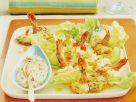 Kopfsalat mit Garnelen Rezept