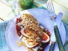 Kornspitz-Sandwich mit Käse und Feige Rezept