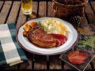 Koteletts vom Hirsch Rezept