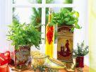 Kräuter-Tagliatelle mit Chiliöl Rezept