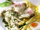 Kräuterhähnchenbrust mit Salat Rezept