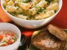 Kräuternudeln mit Filetsteaks Rezept