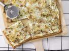 Kraut-Flammkuchen mit Walnüssen Rezept