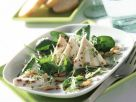 Kressesalat mit Ziegenkäse-Terrine Rezept