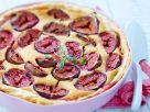Kuchen mit Feigen und Blätterteigboden Rezept