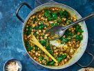 Kürbis-Kichererbsen-Curry mit Kokos Rezept