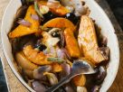 Kürbis mit Oliven aus dem Ofen Rezept