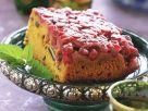 Kürbis-Preiselbeerkuchen Rezept