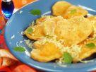 Kürbis-Ravioli mit Käsefüllung Rezept