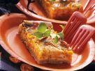 Kürbiskuchen mit Gorgonzola Rezept