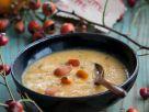 Kürbissuppe mit Hagebutten Rezept