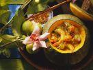 Kürbissuppe mit Scampi Rezept
