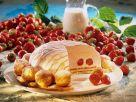 Kuppeltorte mit Erdbeeren Rezept