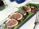 Kurzgebratener Pfeffer-Thunfisch Rezept