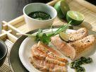 Lachs mit Asia-Pesto Rezept