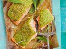 Lachs mit Bärlauchkruste Rezept
