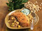 Lachs mit Buchweizen und Kichererbsen Rezept