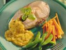 Lachs mit Gemüsesauce Rezept