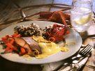 Lachs mit Hollandaise und Möhrengemüse Rezept