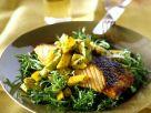 Lachs mit Mangosalsa Rezept