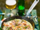 Lachs-Omelette mit Kartoffeln Rezept