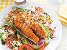 Lachs vom Grill mit Tomatensalat Rezept