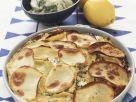 Lachsauflauf mit Kräutern und Kartoffeln Rezept