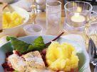 Lachsforelle mit Gemüse Rezept